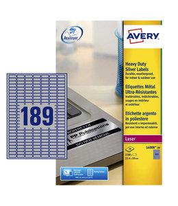 Avery ETIKET L6008-20 25.4X10 3780STKS