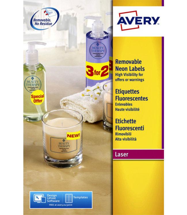 Avery ETIKET L7363P-25 99.1X38.1 340STKS