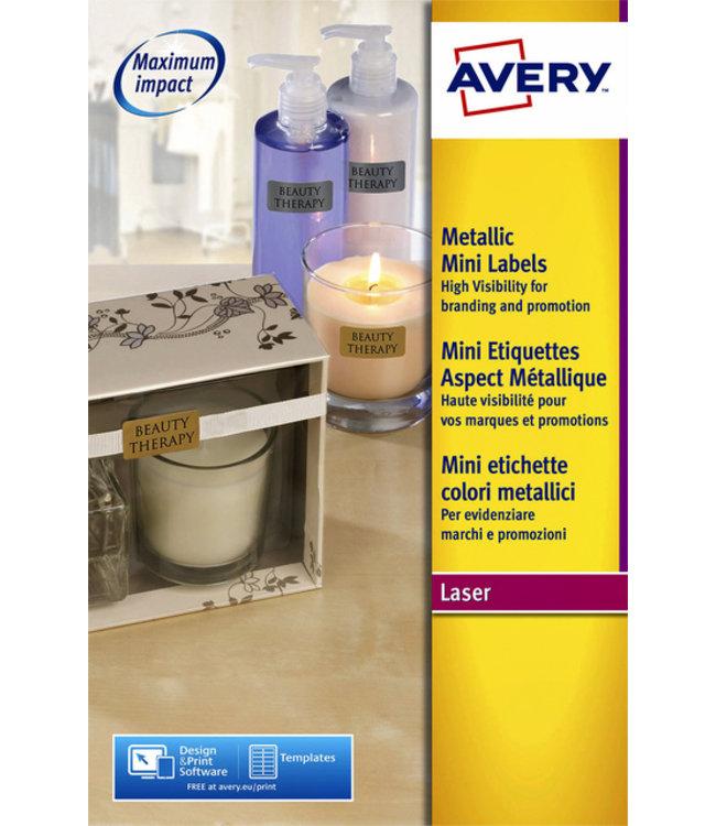 Avery ETIKET L7680-25 38.1X21.2 1625STKS