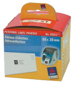 Avery Zweckform L-ETIKET R5012 89X28 WT 260STKS