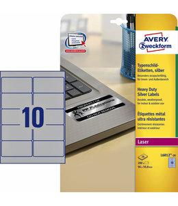 Avery Zweckform ETIKET L6012-20 96X50.8 200STKS