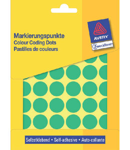 Avery Zweckform ETIKET 3376 18MM GN 1056STKS
