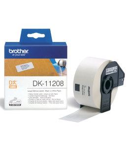 Brother L-ETIKET DK-11208 38X90 WT 400STKS