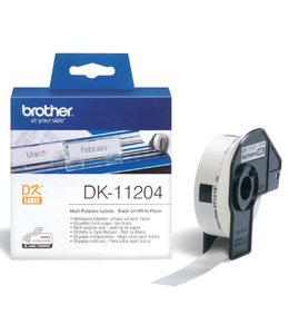 Brother L-ETIKET DK-11204 17X54 WT 400STKS