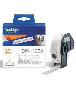 Brother L-ETIKET DK-11203 17X87 WT 300STKS
