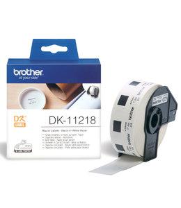 Brother L-ETIKET DK-11218 24MM D 1000STKS