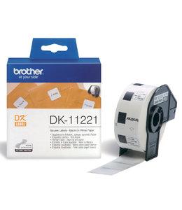 Brother L-ETIKET DK-11221 23X23 WT 1000STKS