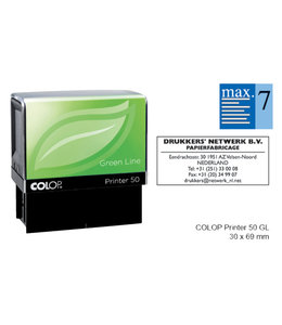 Colop TEKSTSTEMPEL 50 GREEN