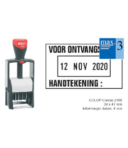 Colop WOORD-DATUMSTEMPEL S2160