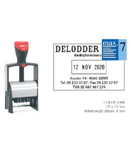 Colop WOORD-DATUMSTEMPEL S2660