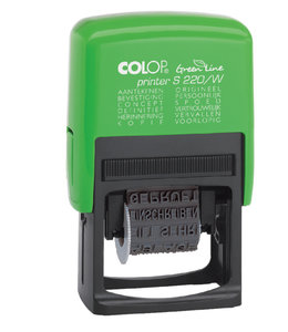 Colop TEKSTSTEMPEL 220W GREEN