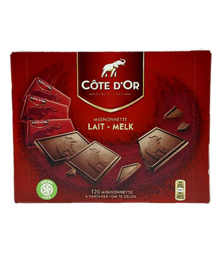 Cote d'Or CHOCOLADE MIGNONNETTE MONO 120STKS