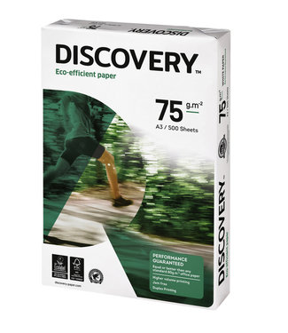 Discovery KOPIEERPAPIER A3 75GR WT 500VEL