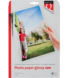 Quantore FOTOPAPIER A4 195GR GLOSSY 50VEL