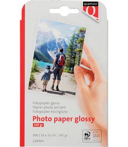 Quantore FOTOPAPIER 10X15 245GR GL 50VEL