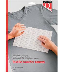 Quantore T-SHIRT TRANSFER DONKER 6STKS