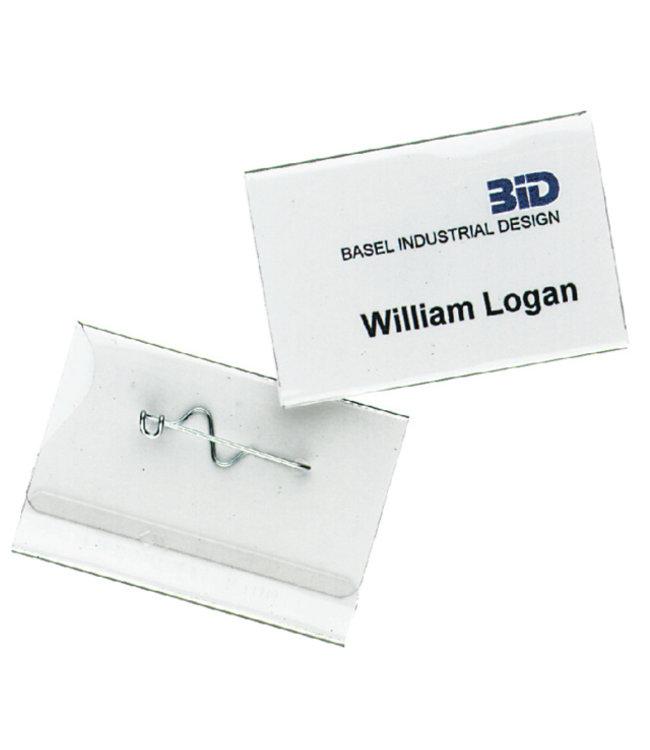 Durable BADGE 8100 40X60MM 100STKS
