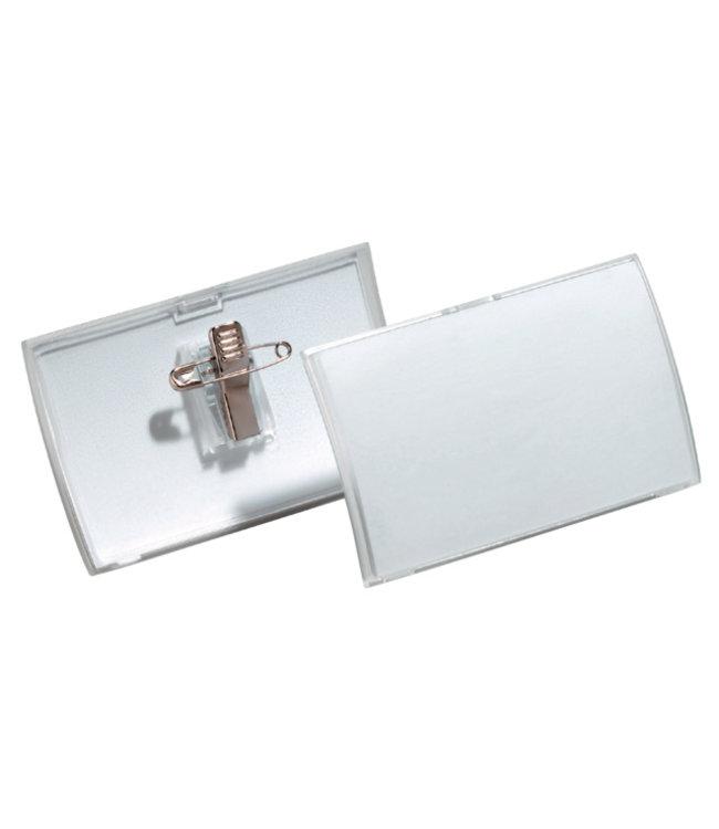 Durable BADGE CLICK FOLD 8211 40X75MM 25STKS