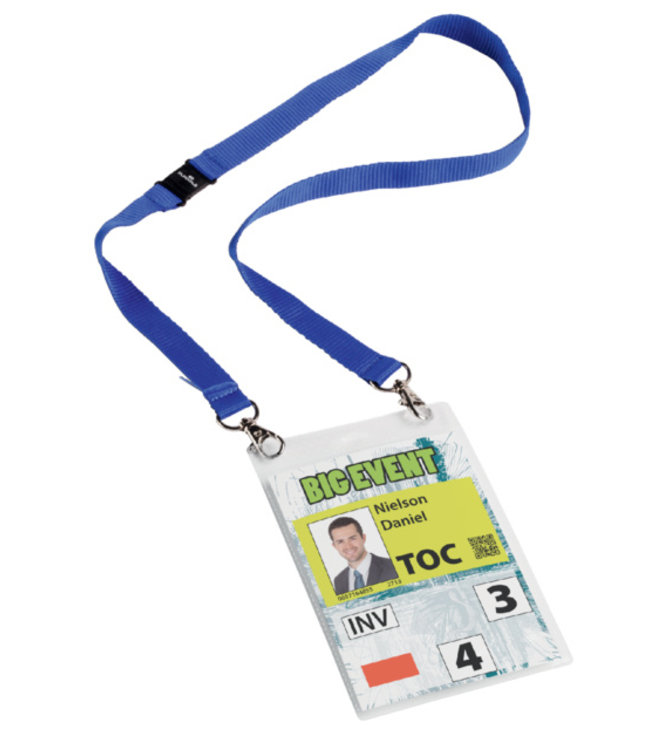 Durable BADGE EVENT A6 DBL 10STKS
