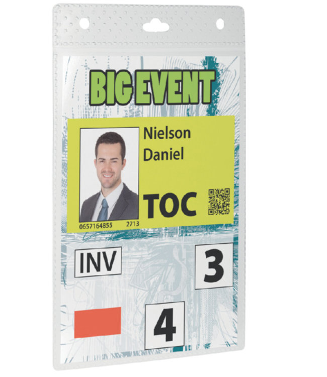 Durable BADGE EVENT A6 TR 20STKS