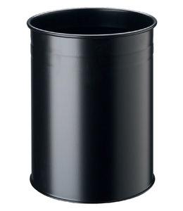 Durable PAPIERBAK 15LTR ROND ZW