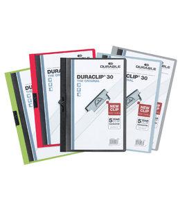 Durable KLEMMAP 2200 A4 PL/TR 3MM ASS 25STKS