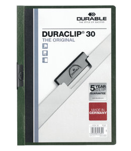 Durable KLEMMAP 2200 A4 PL/TR 3MM DGN 25STKS