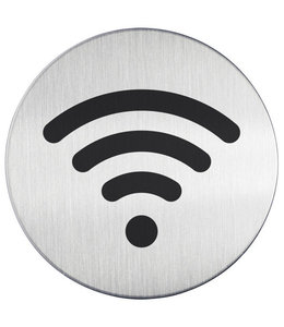 Durable INFOBORD PICTO WIFI ROND