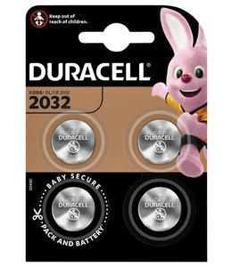 Duracell BATTERIJ 2032 LITHIUM 4STKS