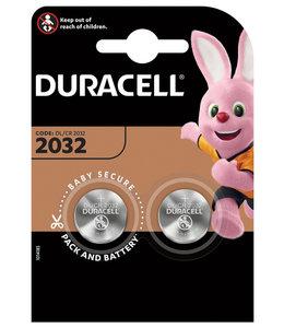 Duracell BATTERIJ 2032 LITHIUM 2STKS