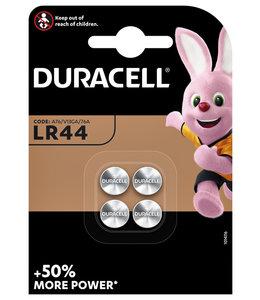 Duracell BATTERIJ LR44 ALKALINE 4STKS