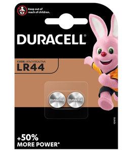 Duracell BATTERIJ LR44 ALK 2STKS