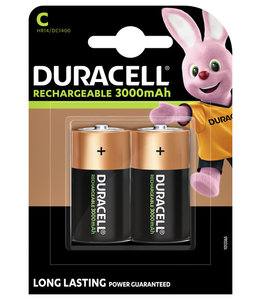 Duracell BATTERIJ OPLB C HR14 2STKS
