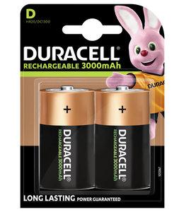 Duracell BATTERIJ OPLB D HR20 2STKS