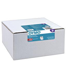 Dymo L-ETIKET 11354 57X32 WT 12000LBLS 12RLN