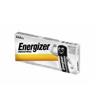 Energizer BATTERIJ IND AAA ALK 10STKS