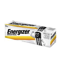 Energizer BATTERIJ IND D ALK 12STKS