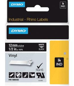 Dymo LTAPE 1805435 12MM ZW/WT