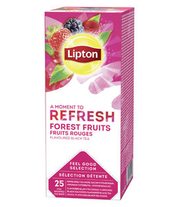 Lipton THEE REFRESH FOREST FRUIT 3X25STKS