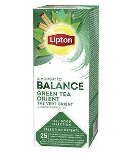 Lipton THEE BALANCE GREEN TEA ORIENT 3X25STKS