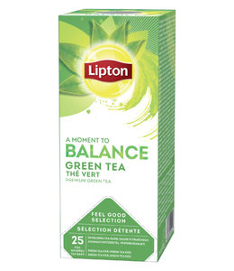 Lipton THEE BALANCE GREEN TEA 3X25STKS