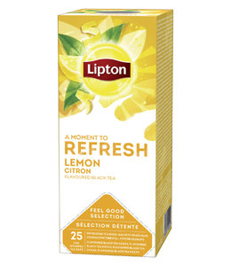 Lipton THEE REFRESH LEMON 3X25STKS