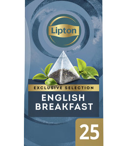 Lipton THEE EXCL ENGLISH BREAKFAST 25STKS