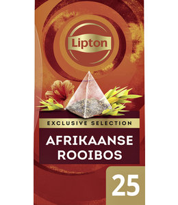 Lipton THEE EXCL AFRIKAANSE ROOIBOS 25STKS