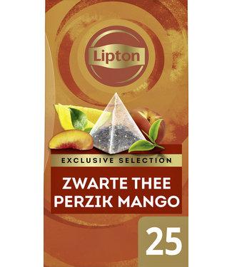Lipton THEE EXCL PERZIK MANGO 25STKS