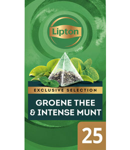 Lipton THEE EXCL GROENE THEE MUNT 25STKS