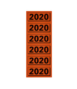 Elba RUGETIKET 2020 RD 100STKS