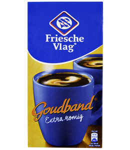 Friesche Vlag KOFFIEMELK VOL GOUDBAND 455ML