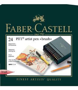Faber Castell BRUSHSTIFT PITT ARTIST 24STKS