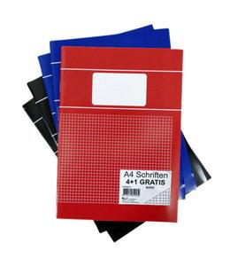 Office SCHRIFT BASIC A4 RT 5MM 80BLZ 20x5STKS